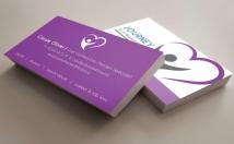 do Elegant Business Card Design with Free Mockups