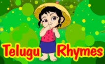 teach rhymes for one hour to your kids in TELUGU, HINDI and  ENGLISH