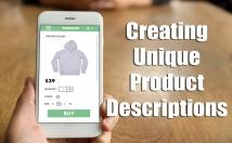 write a unique product description