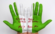 write your message or logo on my PALMS in a body art style