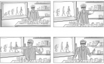 draw STORYBOADRS for film, advertising or animation