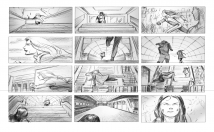 draw STORYBOARD for Film, Animation, Commercials